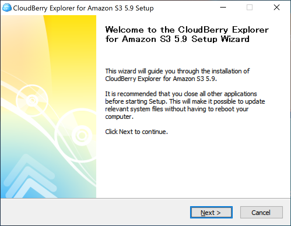 cloudberry s3 ダウンロード